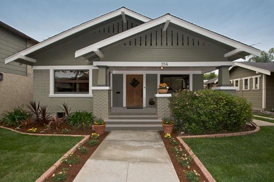 354 obispo ave long beach for California craftsman house