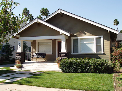 California Craftsman Bungalow